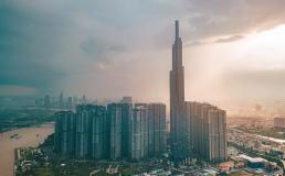 На самом высоком небоскрёбе Вьетнама открыли обзорную площадку