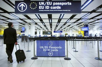 Новые правила безопасности на границах Шенгена